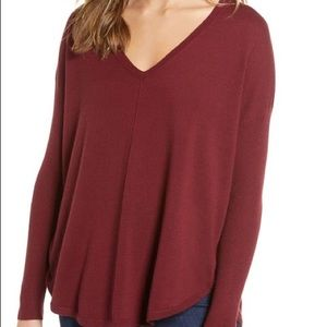 Trouve From Nordstrom  Everyday V Neck Sweater